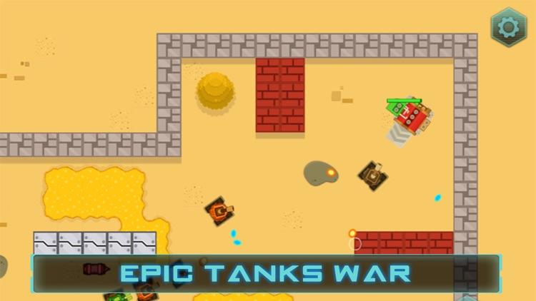 Epic Tanks War - Shooting Game screenshot-4