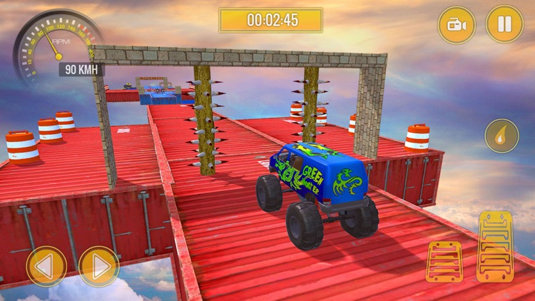 Monster Truck Stunts Challenge screenshot-4