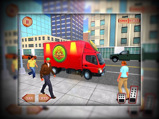 City Pizza Cargo Delivery Boy screenshot #1