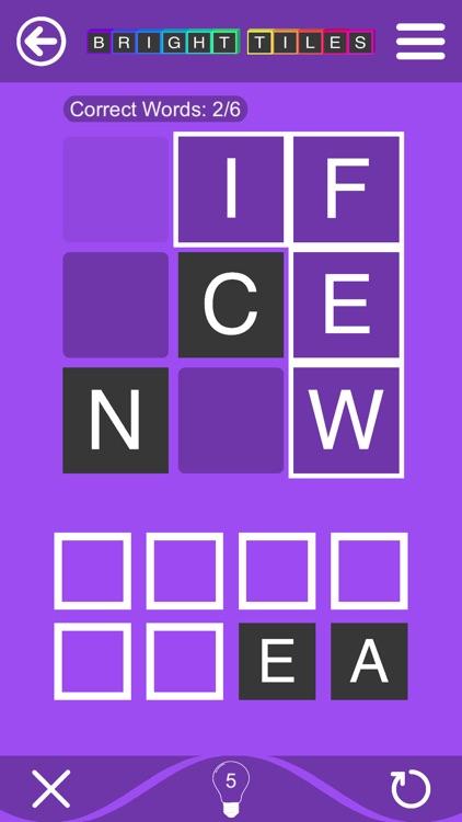 Bright Tiles - Word Puzzles screenshot-3