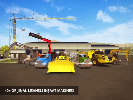 Construction Simulator 2 ipad ekran görüntüleri