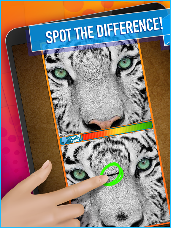 What's the Difference? Spot It-ipad-0