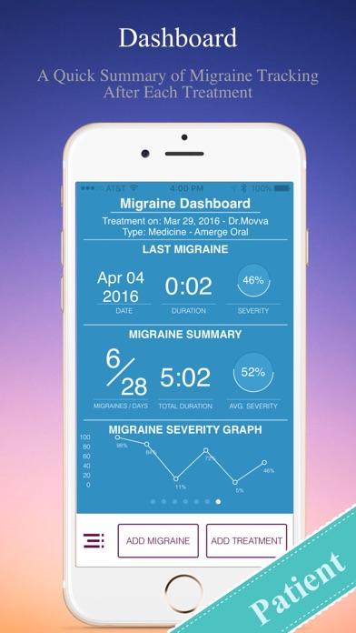 Migraine Tracker screenshot four