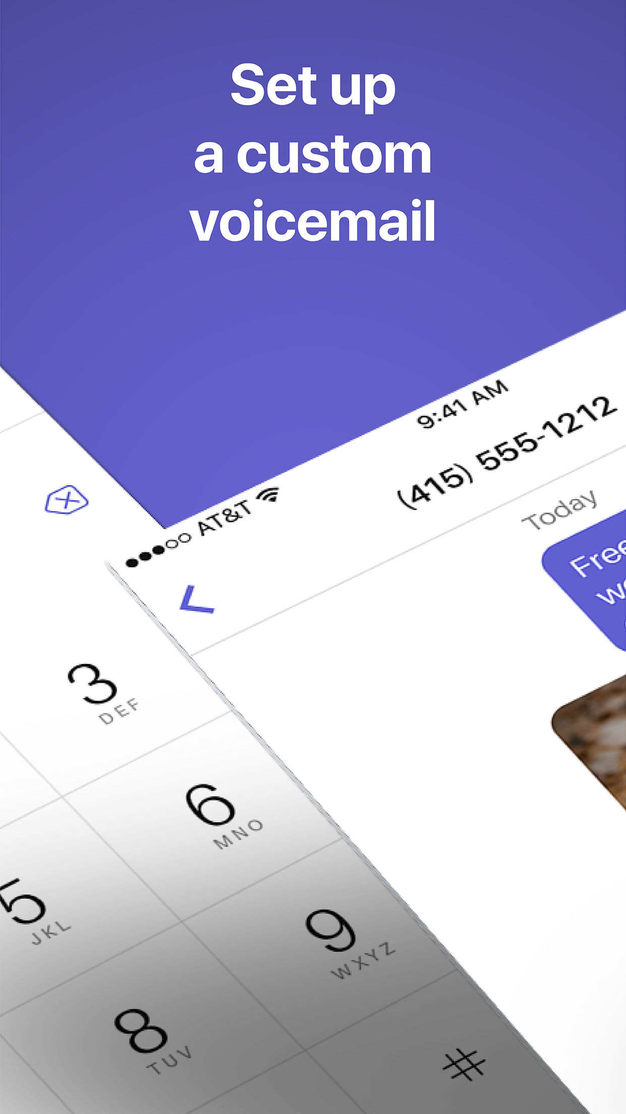 Text Free Calling App Screenshot