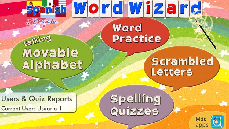 Spanish Word Wizard for Kids screenshot-0