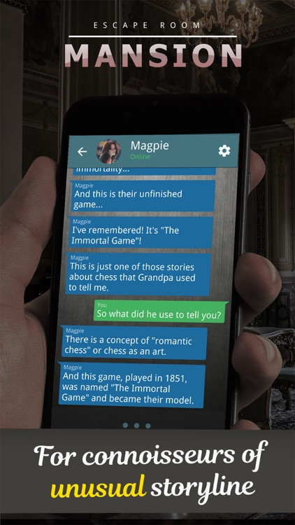 Mansion. Text Adventure screenshot-1