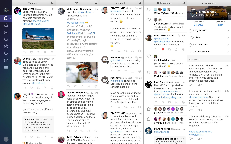 Screenshot do app Tweetbot 3 for Twitter