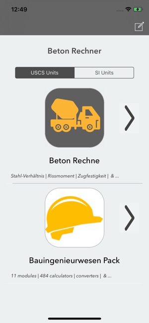 Beton Rechner Im App Store
