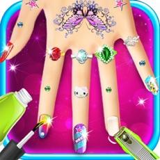 Activities of Princess Nail Art & Makeover