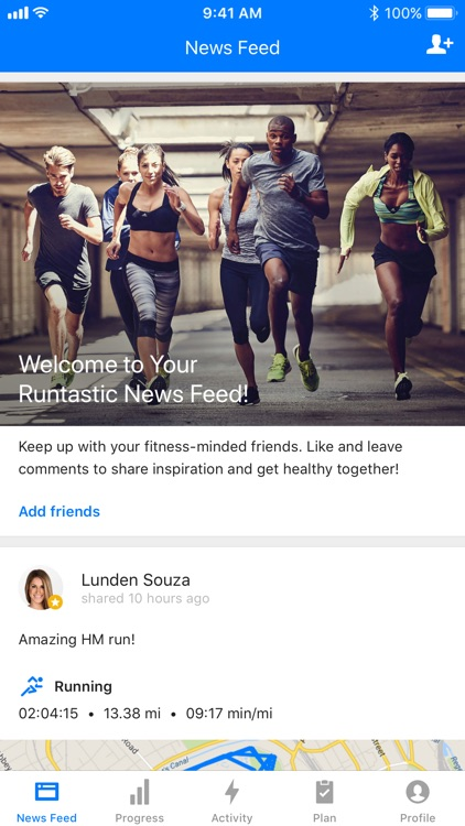 Runtastic GPS Running App screenshot-4