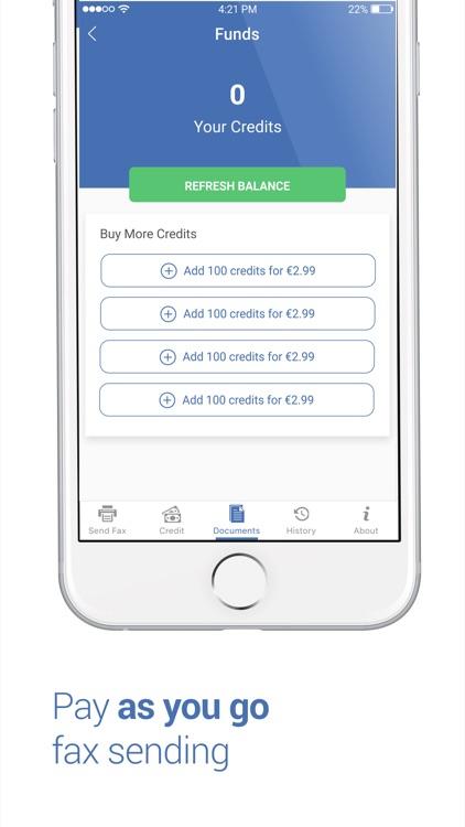 Fax app - Send Fax for iPhone screenshot-3