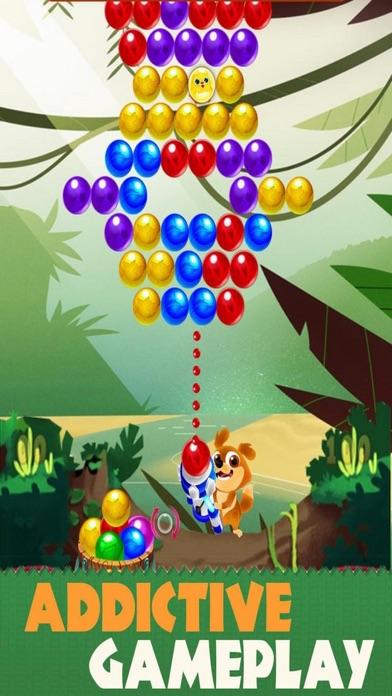 Funny Animal Bubble Pop Screenshot on iOS