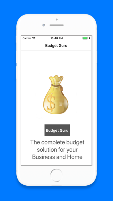 Budget Guru Screenshot on iOS