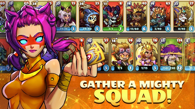 Mighty Party: Heroes Clash screenshot-4
