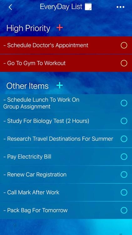 Listly • To Do List App screenshot-0