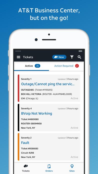 AT&T BizCenter screenshot 4