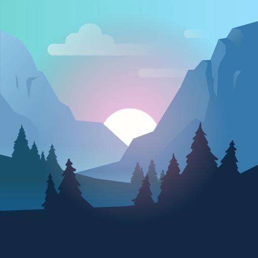 Valleys Between app for ipad