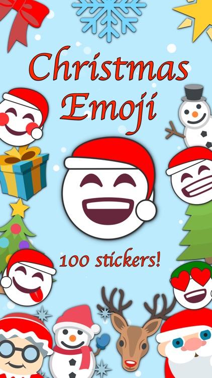 100 Pics Christmas Emoji.Christmas Emoji Stickers By Ghislain Fortin