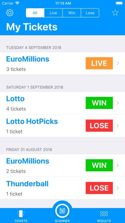 Lotto Lens screenshot-0