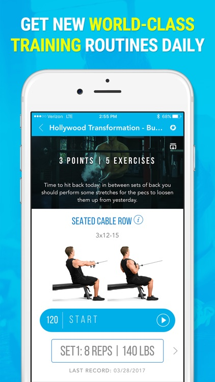 Daily Spot - Elite Gym Workouts and Audio Fitness