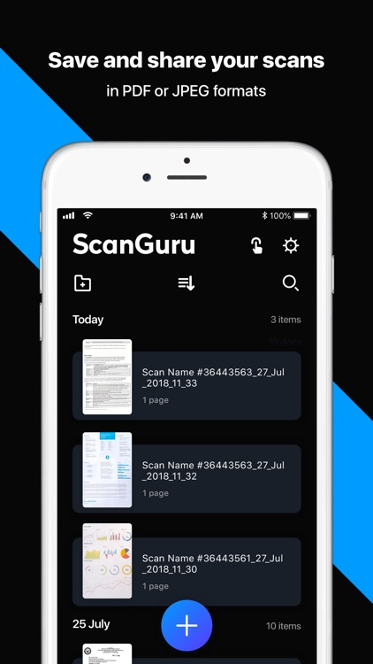 ScanGuru - PDF scanner screenshot-1