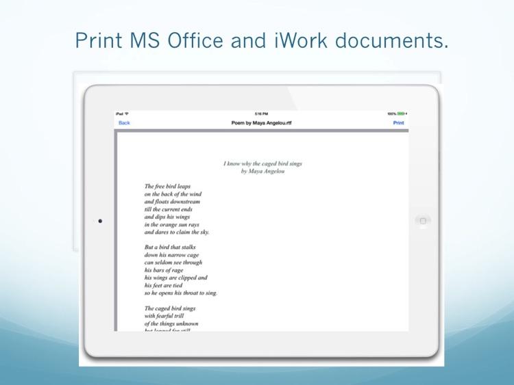 Print Easy for iPad screenshot-4