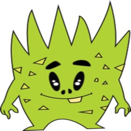 Greeny The Monster stickers