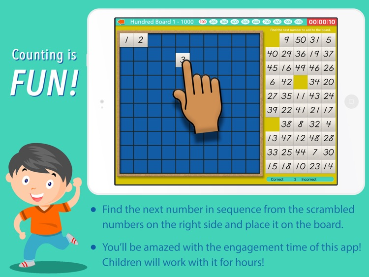 Count to 1000! Montessori Math screenshot-3