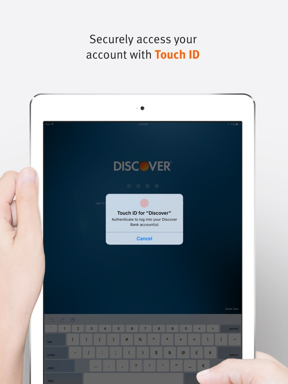 Discover Mobile iPad