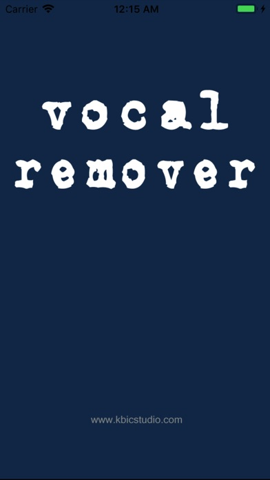 ボーカル削除 - Vocal Remover screenshot1