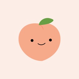 Cute Peach Stickers