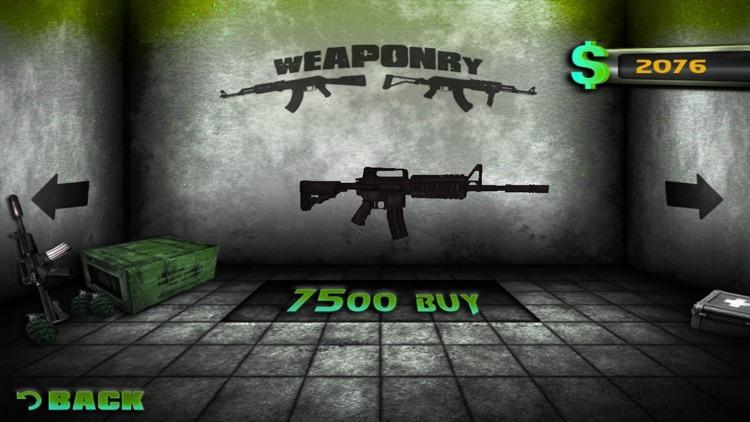 Zombie shooting game screenshot-3