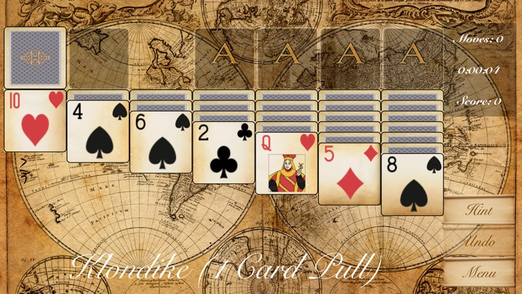 The Klondike Solitaire Game