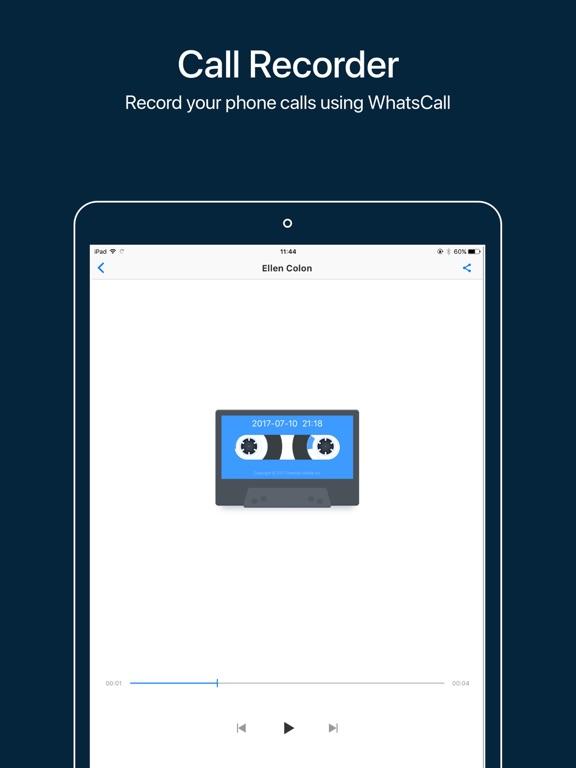 App Shopper: WhatsCall-Calling App+Recorder (Utilities)