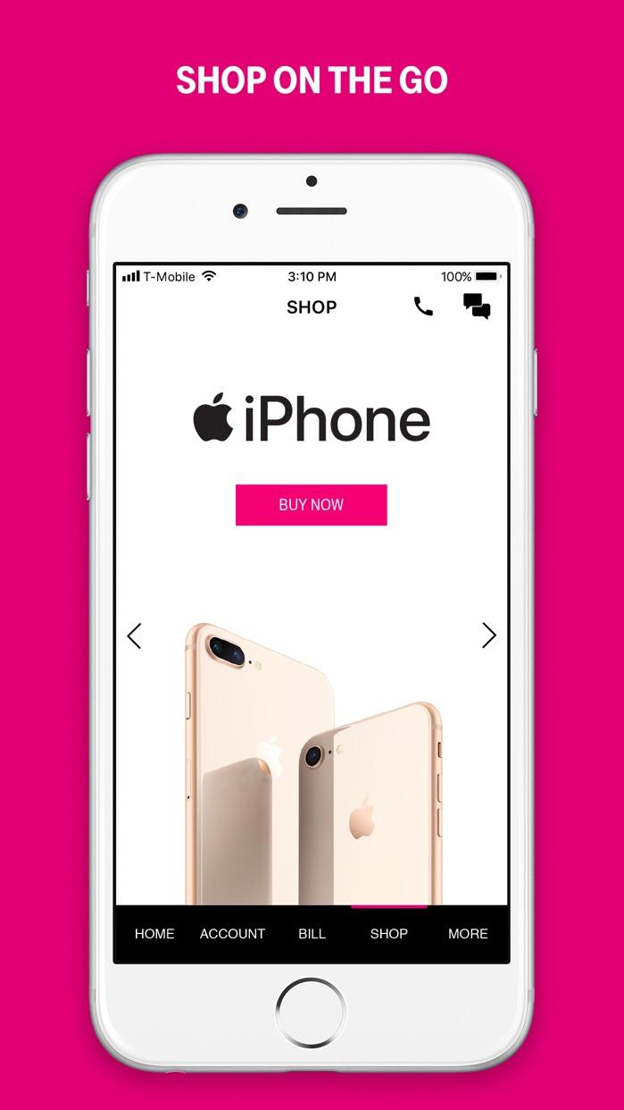 T-Mobile Screenshot