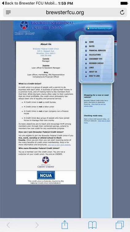 Brewster Federal Credit Union screenshot-3
