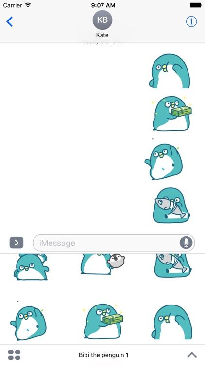 Bibi the penguin 1