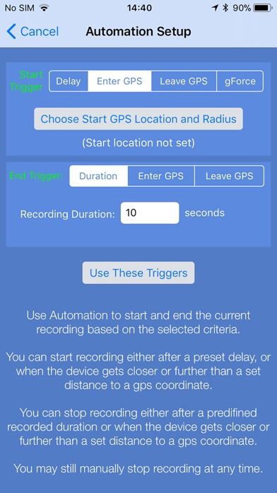 Screenshots for Sensor Play - Data Recorder