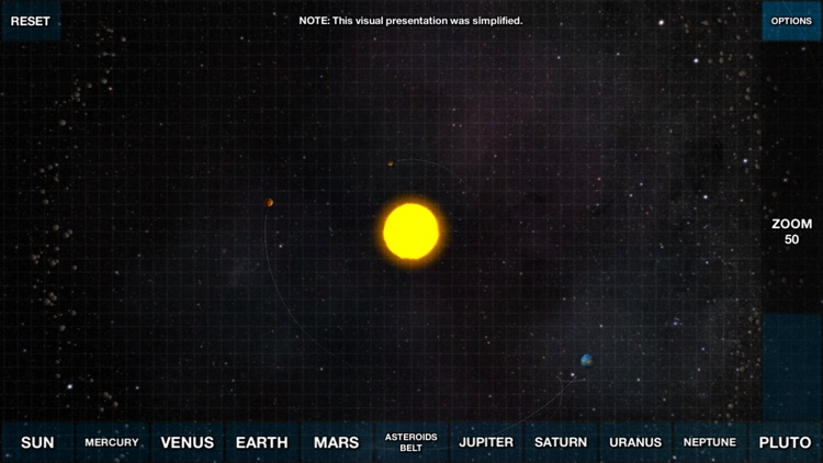 Solar System Overview 3D