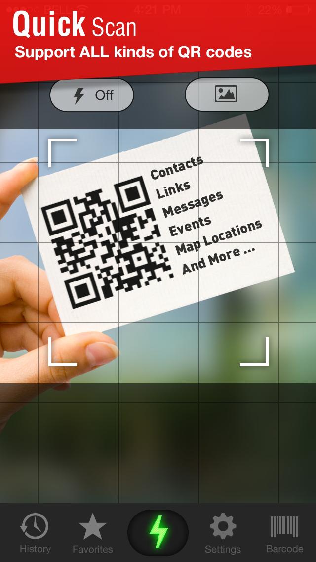 다운로드 퀵 스캔 - QR코드 리더 Android 용