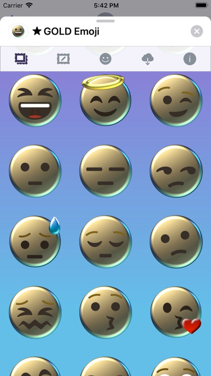 GOLD Emoji • Stickers screenshot-4