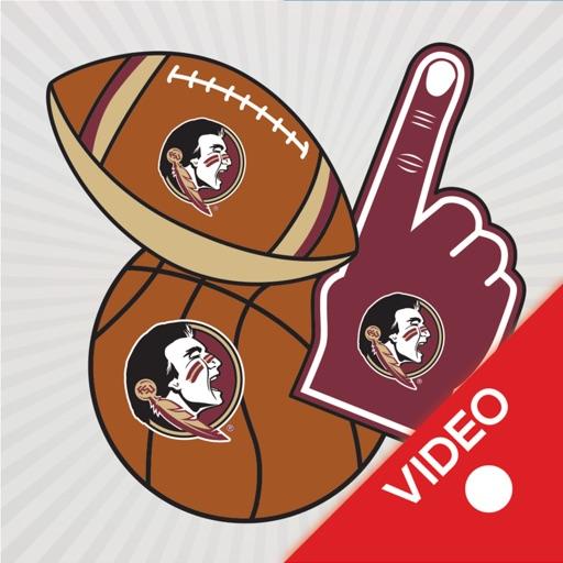 Florida State Seminoles Animated Selfie Stickers