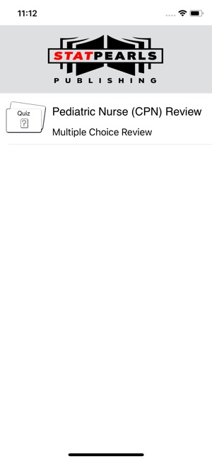 Pediatric Nurse CPN Review on the App Store