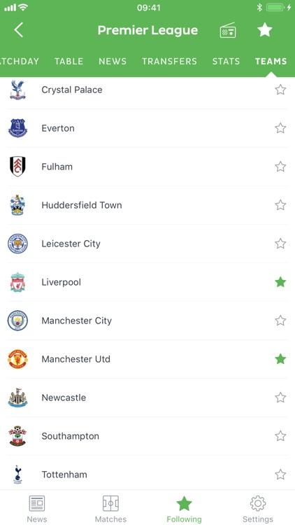 Onefootball - Soccer Scores screenshot-5
