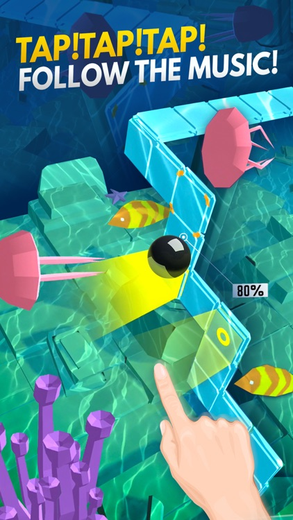 Dancing Ball World: Music Game screenshot-0
