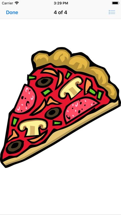 Pizza Sticker Pack screenshot-4