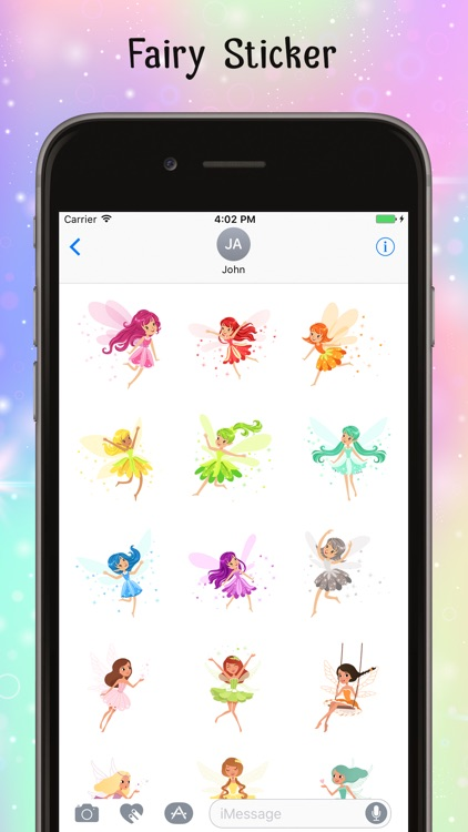 Fairy Stickers-Colorful Emojis