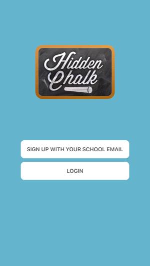 Hidden Chalk App on the App Store