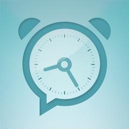 TalkClok. Talking alarm clock.