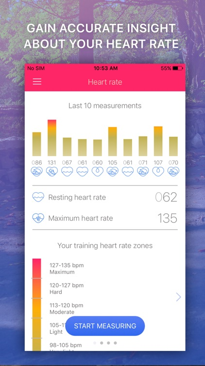 Heart Rate Monitor: EKG Pulse Tracker for Cardio